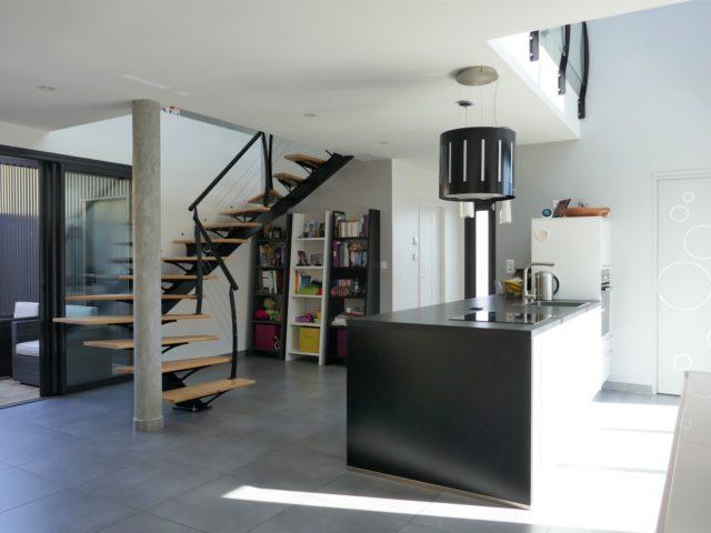 Maison séjour-cuisine Beaucouzé e-Bis-IMMOBILIER