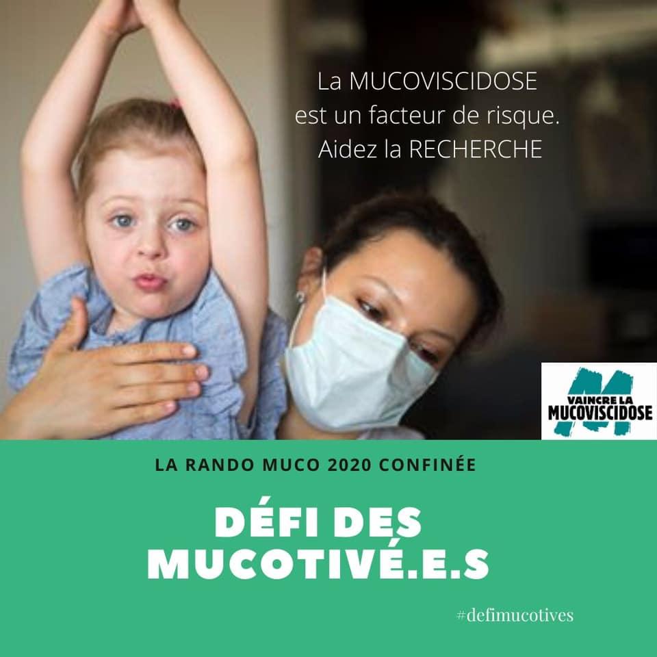 Défi des MUCOTIVÉ.E.S Vaincre la Mucoviscidose