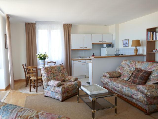Appartement Villa Ar Vro Salon séjour e-bis-Immobilier