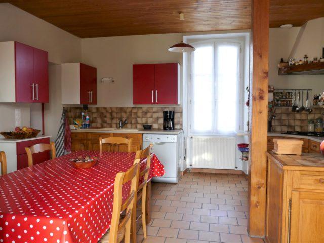 Maison Trélazé cuisine e-bis-immobilier