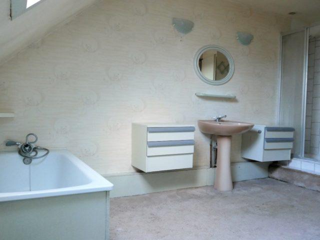 Maison Bouchemaine Pruniers salle de bains et douches e-bis-immobilier