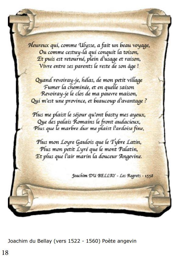 Les Regrets Joachim Du Bellay e-Bis-Immobilier