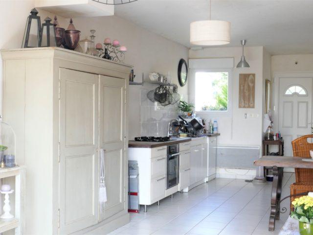 Maison Les Rosiers sur Loire cuisine ouverte e-bis-immobilier