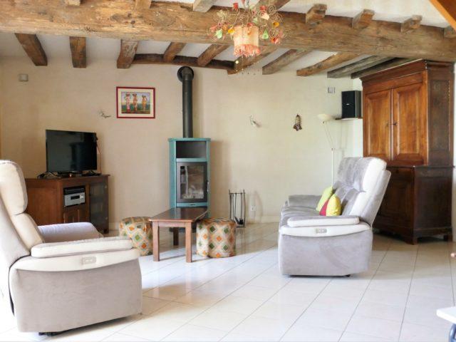 Maison Bouchemaine salon e-bis-immobilier